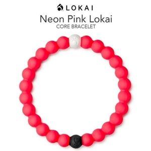 Lokai Bracelet Neon Pink Core Collection